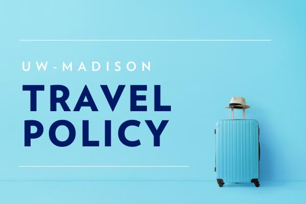 UW travel policy update
